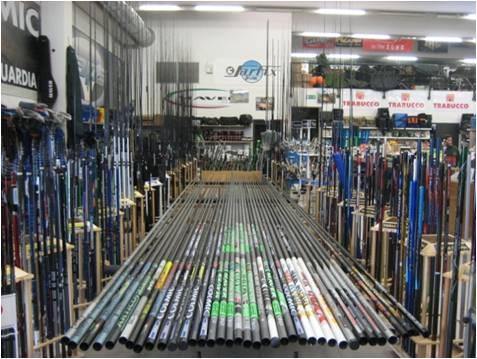 Consegna di negozio da pesca nella CSI